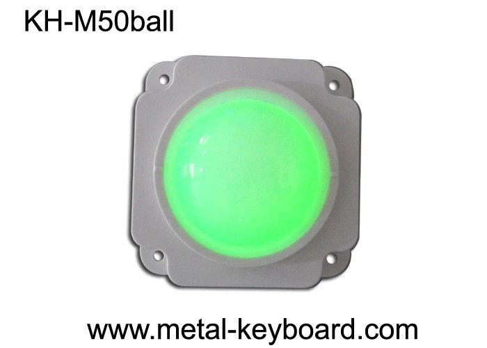 50 MM Mechanical Resin trackball  / Backlit trackball Pointing Device
